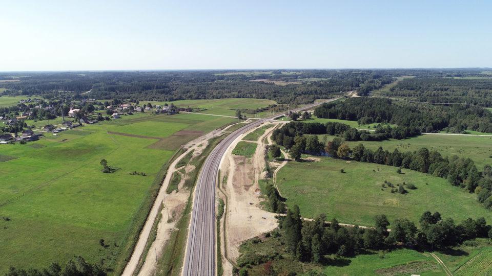 Antrojo kelio statyba ruože Telšiai - Lieplaukė